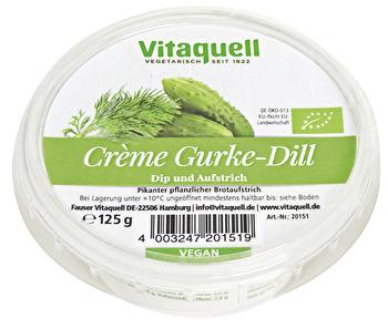 vegane Gurke & Dill Creme von Vitaquell preiswert bei kokku im veganen Onlineshop kaufen!