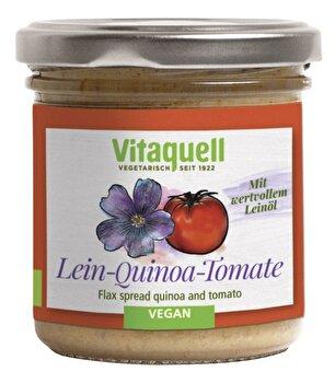 Quinoa Tomate Leinölaufstrich von Vitaquell günstig bei Kokku im Veganshop kaufen!