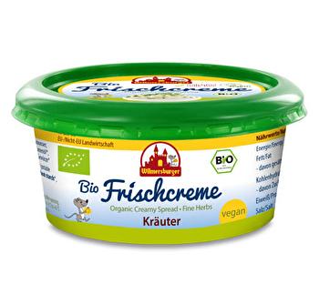 Vegane Frischecreme Kräuter von Wilmersburger günstig bei kokku im veganen Onlineshop kaufen!