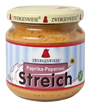 Paprika Peperoni Streich von Zwergenwiese günstig bei Kokku im Veganshop kaufen!