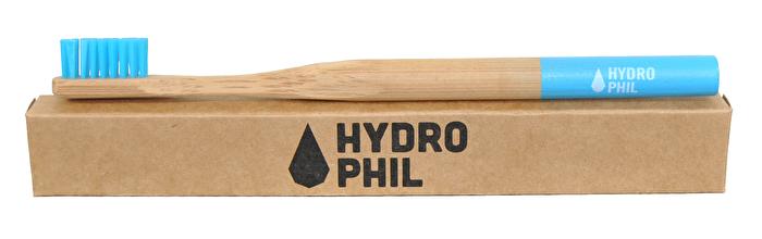 Zahnbürste Bambus Blau mittel von Hydrophil günstig bei Kokku im Veganshop kaufen!