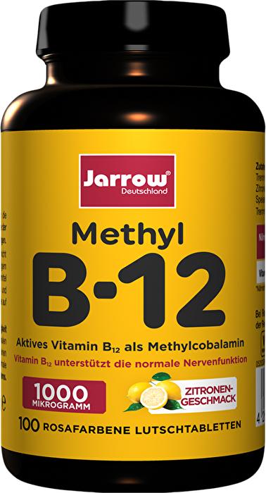 B12 Lutschtabletten JARROW®- vegane Nahrungsergänzung bei kokku kaufen