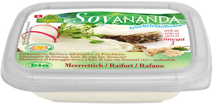 Soyananda veganer Frischkäse Meerrettich von Soyana preiswert bei kokku im veganen Onlineshop kaufen!