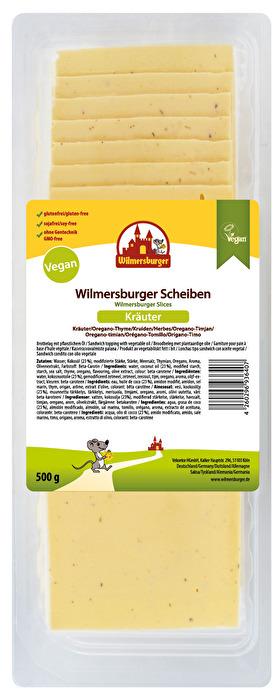 Veganer Käse Scheiben Kräuter von Wilmersburger günstig bei kokku im veganen Onlineshop kaufen!