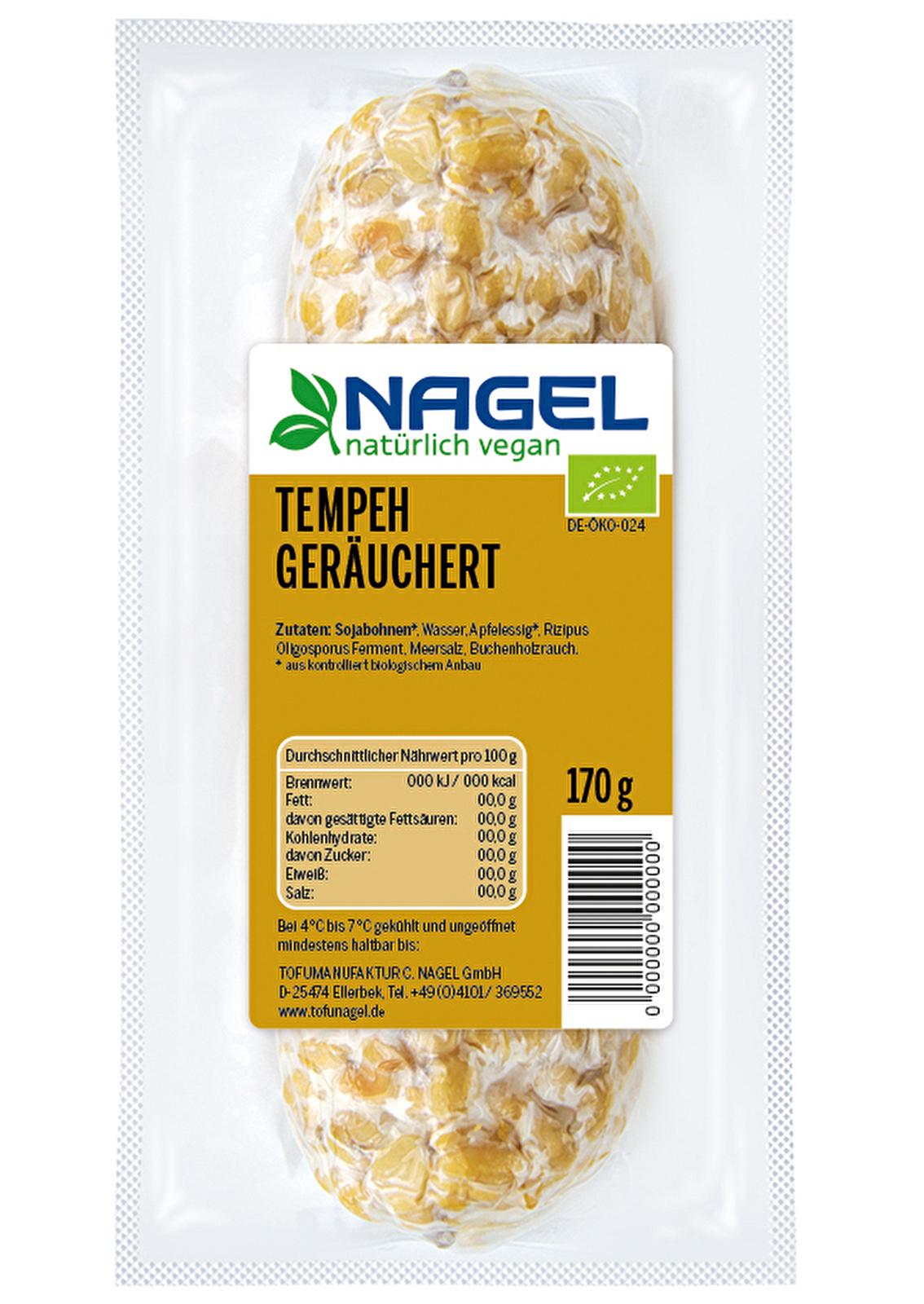 Nagel Tofumanufaktur - Tempeh Geru00e4uchert Kaufen | Kokku - Dein Veganer Onlineshop