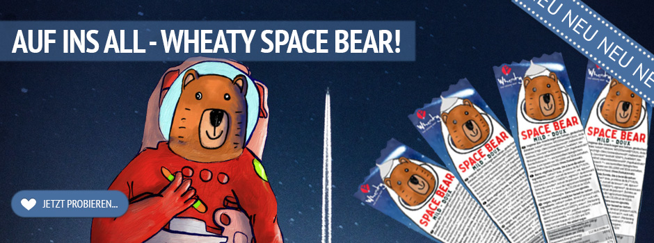 Wheaty Space Bear neu bei kokku